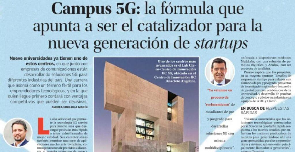 5G, FRancisco Pizarro, Centro de Innovación UC, Clase Ejecutiva UC